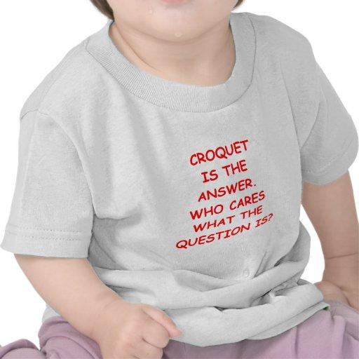 croquet t-shirts