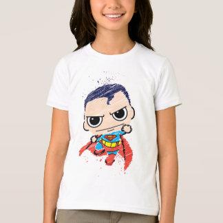 Croquis de Chibi Superman - vol Tee-shirt