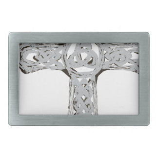 cross12 rectangular belt buckle