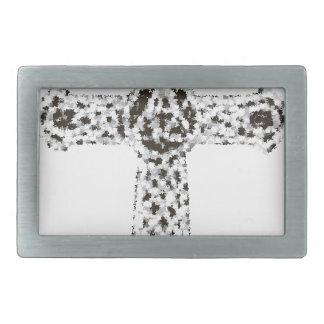 cross14 rectangular belt buckles