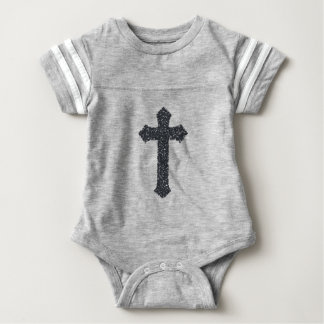 cross22 baby bodysuit