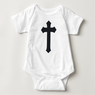 cross23 baby bodysuit