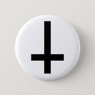 Cross 2 Inch Round Button