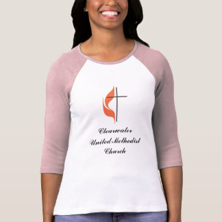 Cross and flame, ClearwaterUnited MethodistChurch T-Shirt
