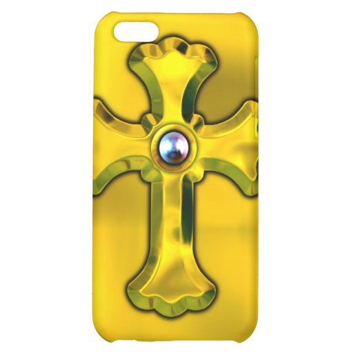 Cross and Pearl iPhone Case Cover For iPhone 5C