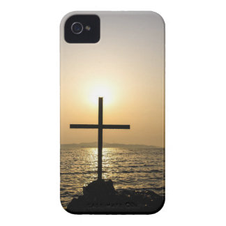 Cross and sea iPhone 4 case