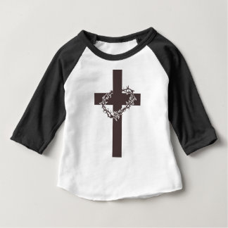 Cross And Thorns Baby T-Shirt