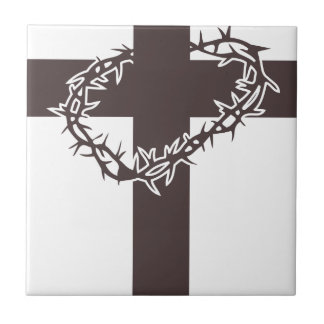 Cross And Thorns Tile