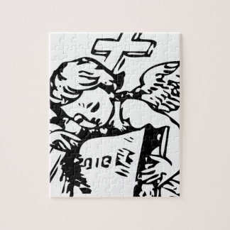 Cross Angel Jigsaw Puzzle