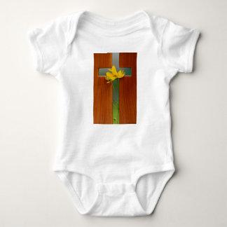 Cross Baby Bodysuit