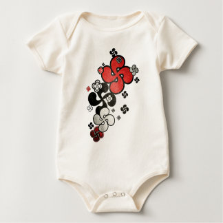 cross Basque Baby Bodysuit