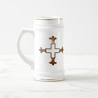 Cross Beer Steins