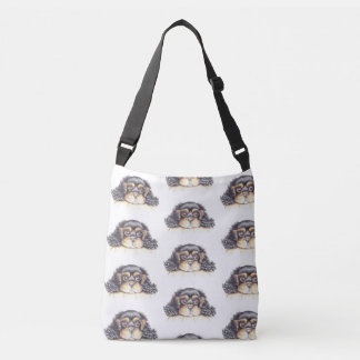Cross-Body Bag with Puppy Max the Cavalier