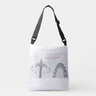 Cross Body Tote Bag - Iconic London