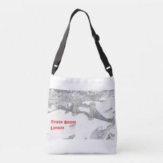 Cross Body Tote Bag - Tower Bridge London