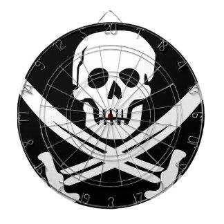 Cross Bones Flag Pirate Skull Dartboard