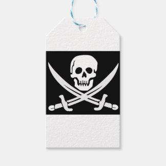 Cross Bones Flag Pirate Skull Gift Tags