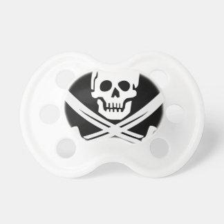 Cross Bones Flag Pirate Skull Pacifier
