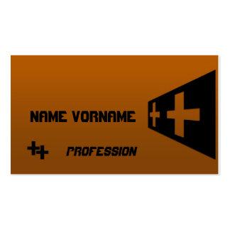 cross business card template