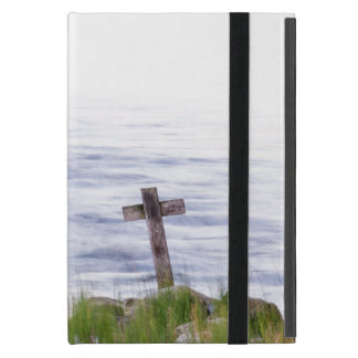 Cross by river iPad mini cover
