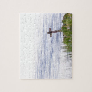 Cross by river puzzles