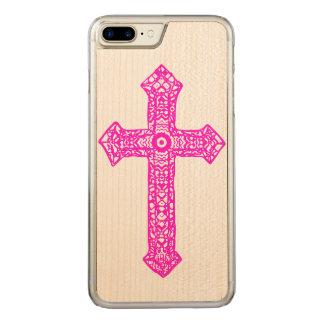 Cross Carved iPhone 8 Plus/7 Plus Case