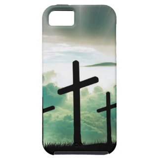 Cross Christ Faith God Jesus Clouds Sun Light Case For The iPhone 5