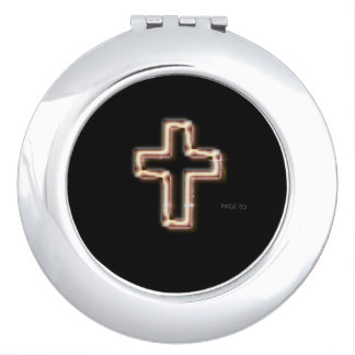 CROSS-Christian_Lighted-Bronze_Black(c) Multi Makeup Mirror