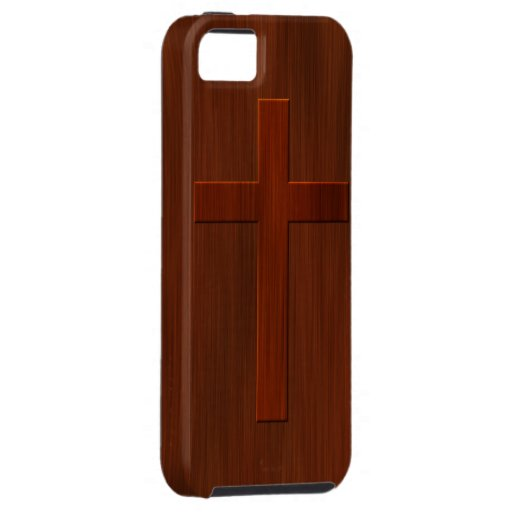 Cross: Church Pew iPhone 5 Cover