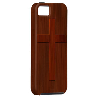Cross: Church Pew iPhone 5 Case
