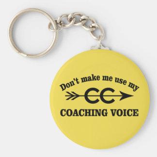 Cross Country Coach Key Chain Gift