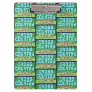 Cross Country Coach Pattern Clipboard