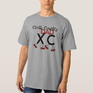 Cross Country Dad - XC Runner Father T-Shirt