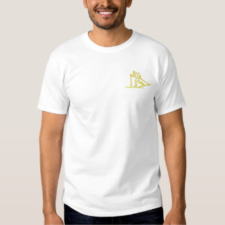 Cross-country Embroidered T-Shirt