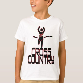 CROSS COUNTRY FINISH LINE RUNNER T-Shirt