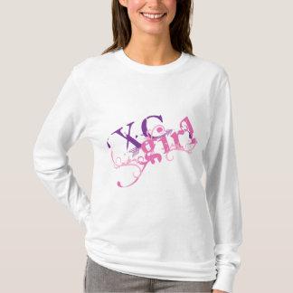 Cross Country Girl XC Runner themed T-Shirt