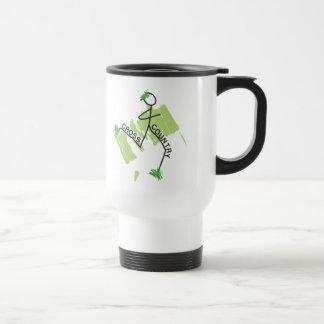 Cross Country Grass Runner Travel Mug