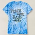 Cross Country PEACE LOVE RUN CC Tie-Dye T-Shirt