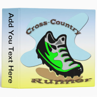 "Cross-Country Runner  2"" Binder"