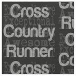 Cross Country Runner Extraordinaire Fabric