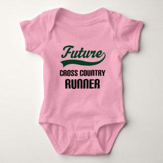 Cross Country Runner (Future) Baby Bodysuit