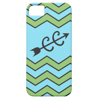 Cross Country Running Chevron Pattern iPhone 5 Case