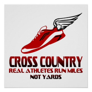 Cross Country Running Poster