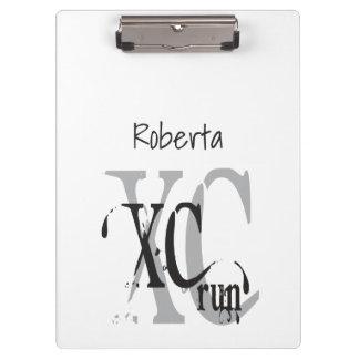Cross Country Running XC Clipboard