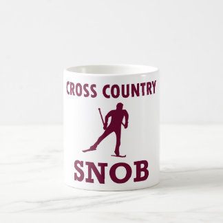 Cross Country Ski Snob Coffee Mug