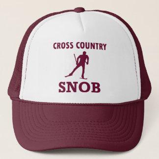 Cross Country Ski Snob Trucker Hat