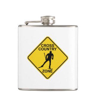 Cross Country Ski Zone Hip Flask