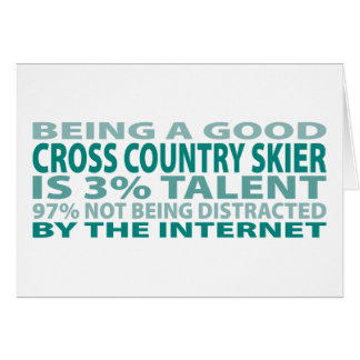 Cross Country Skier 3% Talent Card