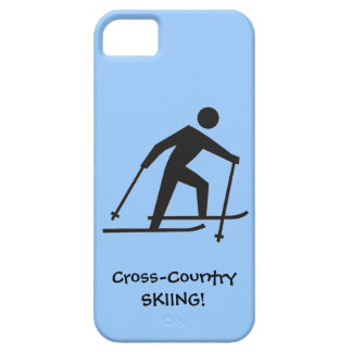 Cross-Country Skiing Design iPhone Casemate iPhone 5 Covers