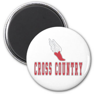 Cross Country T-shirts and Gifts. Magnet